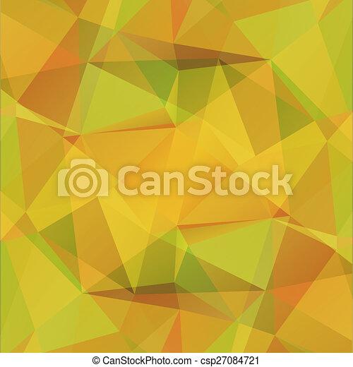 黃色的背景 - csp27084721