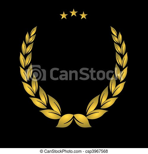 黃金, 冠 - csp3967568