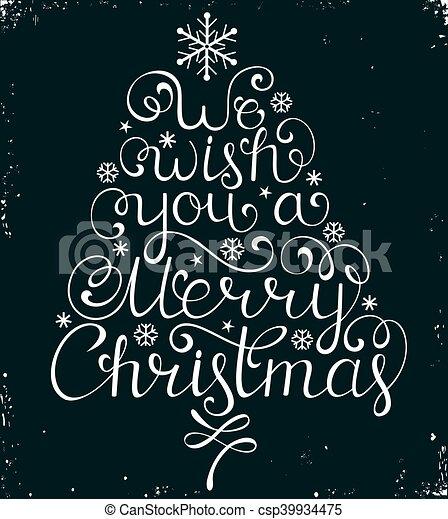 黒, お祝い, クリスマス, 背景 - csp39934475