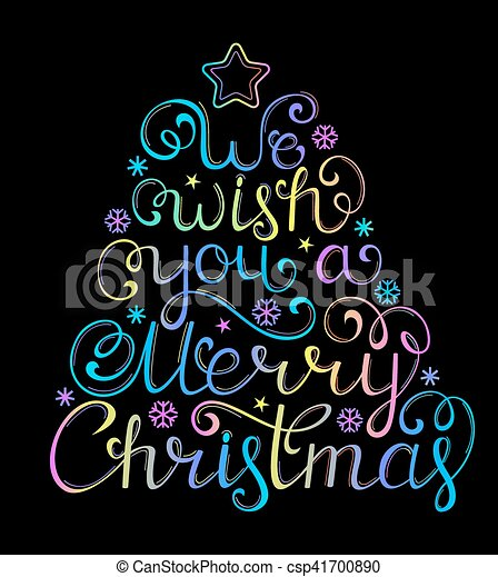 黒, お祝い, クリスマス, 背景 - csp41700890