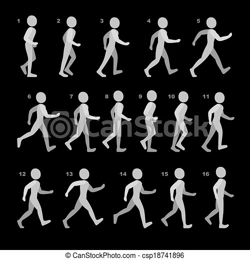 アニメーション 歩く AfterEffectsで『人が歩いているアニメーション』を作って見よう!