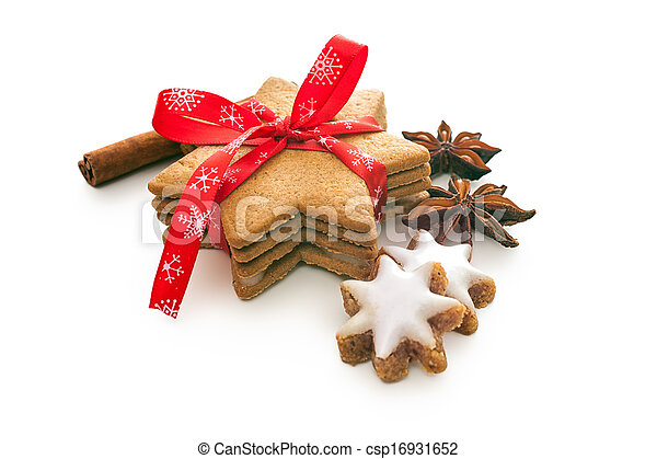 가정, 쿠키, 굽, 크리스마스 - csp16931652