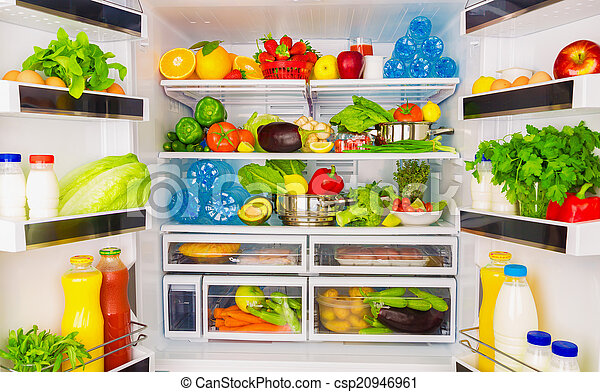 건강에 좋은 음식, 개념 - csp20946961