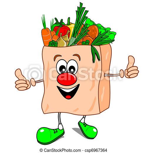건강에 좋은 음식 - csp6967364