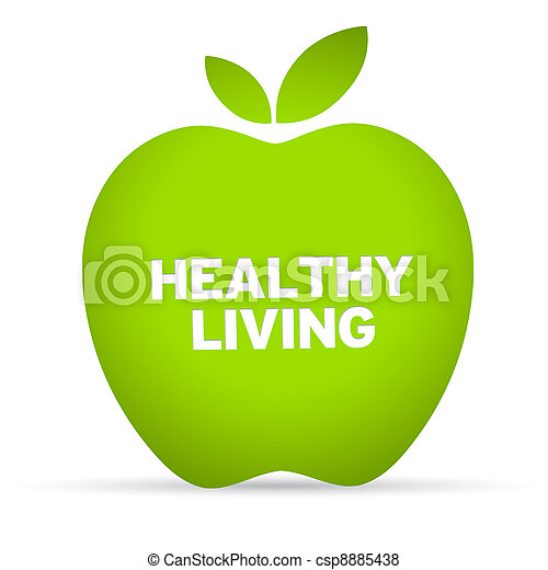 건강한 생활양식 - csp8885438
