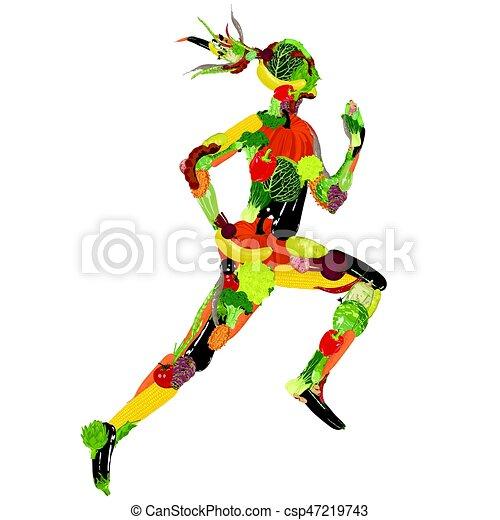 건강한 생활양식 - csp47219743