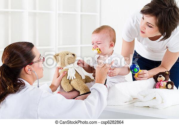 건강, pediatric하다, 걱정 - csp6282864