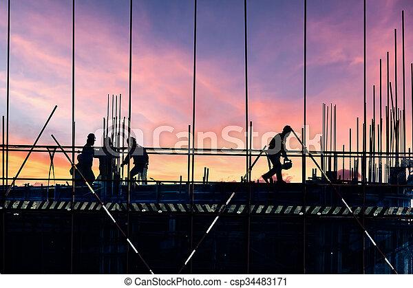 건축 용지 - csp34483171