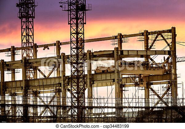 건축 용지 - csp34483199