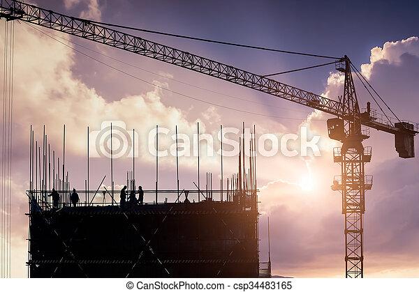 건축 용지 - csp34483165