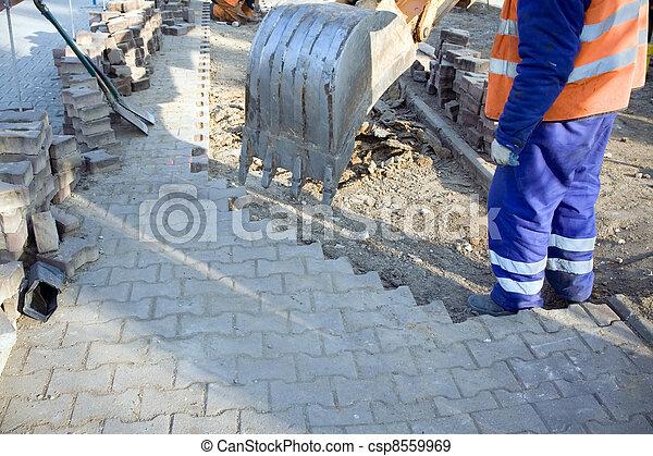 건축 용지, 일, 남자 - csp8559969