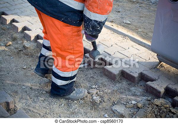건축 용지, 일, 남자 - csp8560170