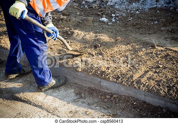 건축 용지, 일, 남자 - csp8560413