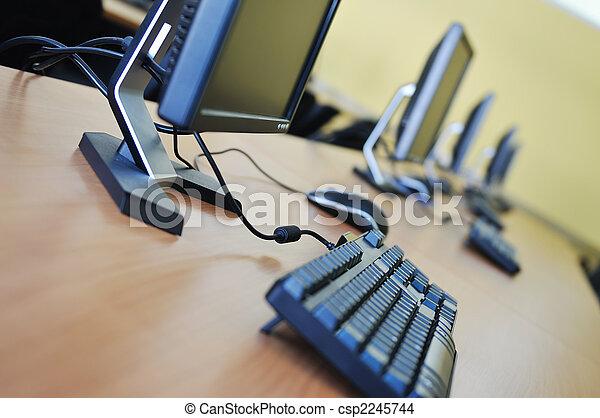 교실, 컴퓨터 - csp2245744
