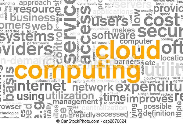 구름, 컴퓨팅 - csp2870624