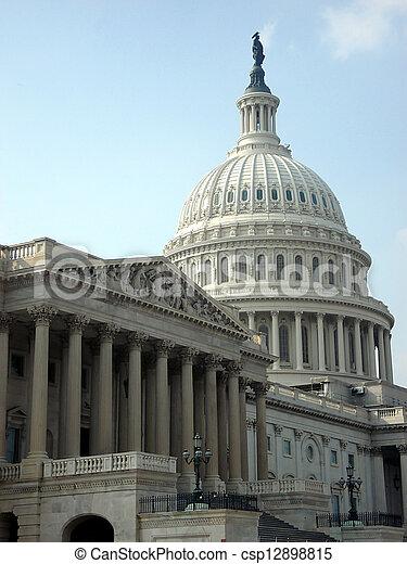 국회 의사당, 정부 - csp12898815