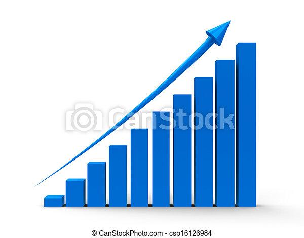 그래프, 위로의, 사업 - csp16126984