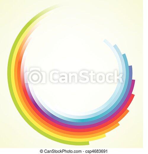 기계의 운전, 다채로운, 배경, 안내장 - csp4683691
