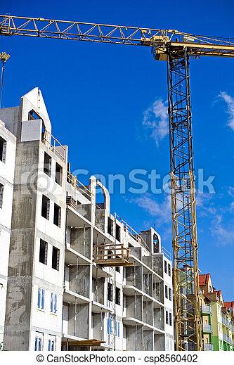 기중기, 건축 용지 - csp8560402