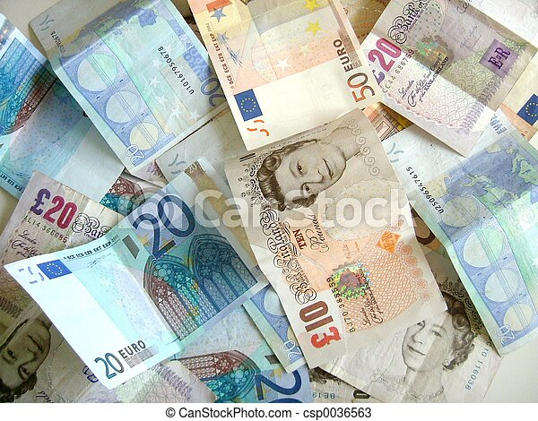 돈, 혼합 - csp0036563