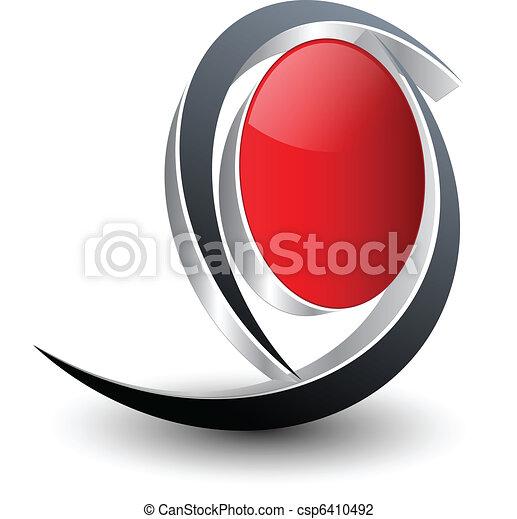 로고, 디자인 - csp6410492
