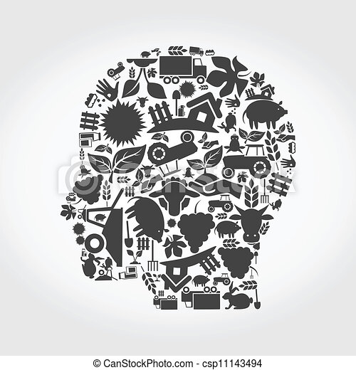 머리, 농업 - csp11143494