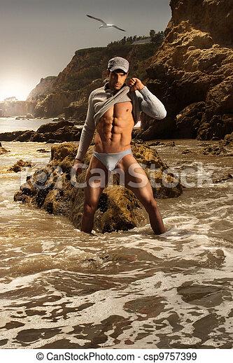 모델, 남성, 유행 - csp9757399