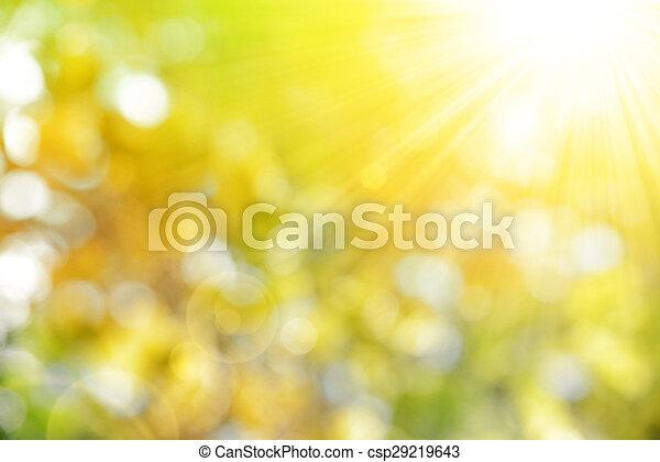 배경, 가을, 자연 - csp29219643