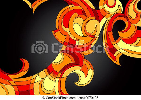 부족의 예술 - csp10079126