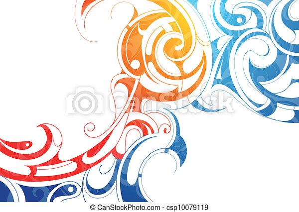 부족의 예술 - csp10079119