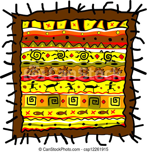 부족의 예술 - csp12261915