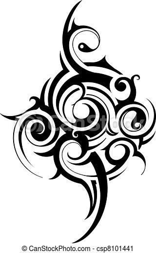 부족의 예술 - csp8101441