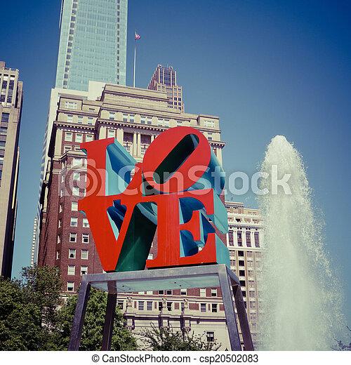 사랑, 공원 - csp20502083