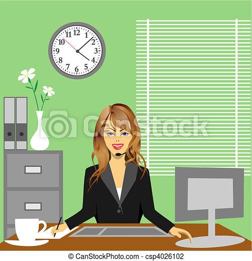 사무실 - csp4026102