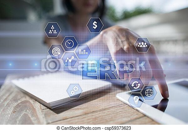 사업, concept., 계획, 기업, 기술, 자원 - csp59373623