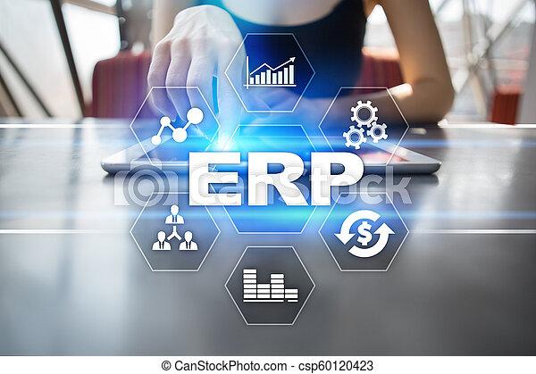 사업, concept., 계획, 기업, 기술, 자원 - csp60120423