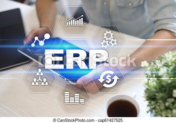사업, concept., 계획, 기업, 기술, 자원 - csp61427525