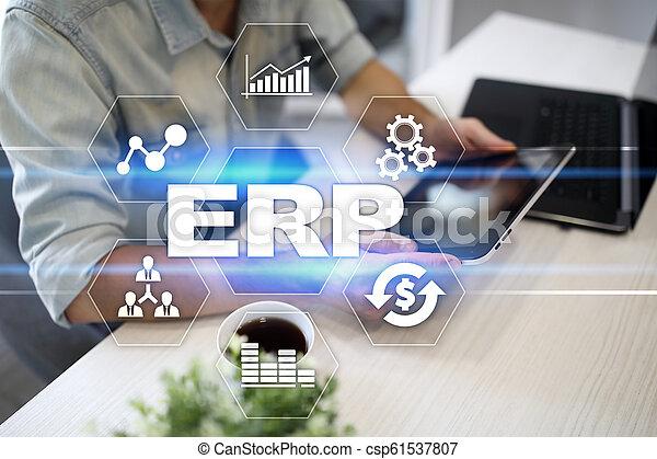 사업, concept., 계획, 기업, 기술, 자원 - csp61537807