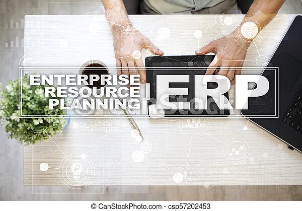 사업, concept., 계획, 기업, 기술, 자원 - csp57202453