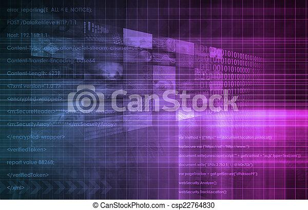 산업, 경쟁자, 분석 - csp22764830