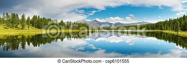 산 호수 - csp6101555