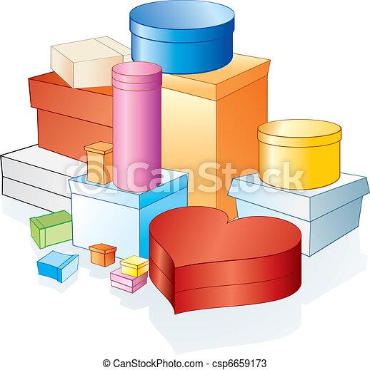 상자, 포장 - csp6659173