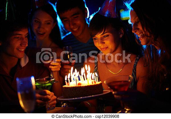 생일, 경이 - csp12039908