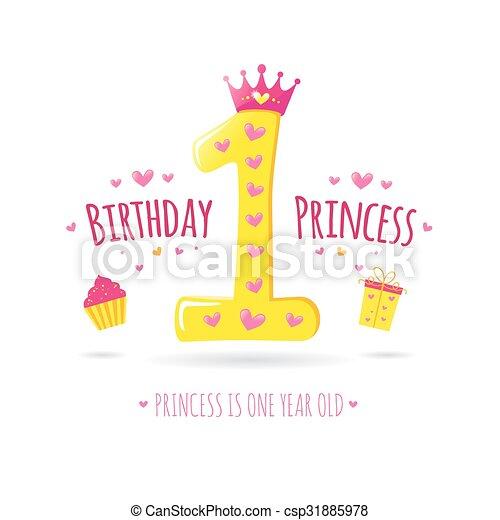 생일 축하합니다, 처음 - csp31885978