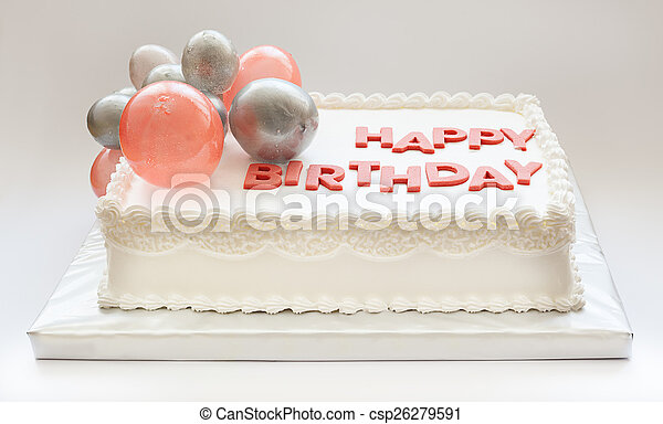 생일 축하합니다, 케이크 - csp26279591