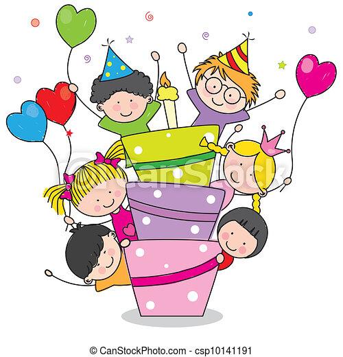 생일 카드 - csp10141191