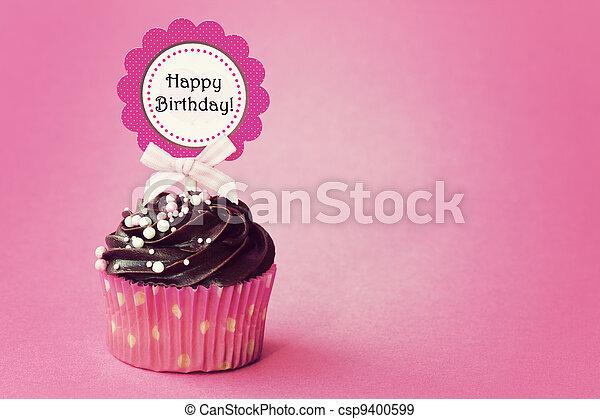 생일, 컵케이크 - csp9400599