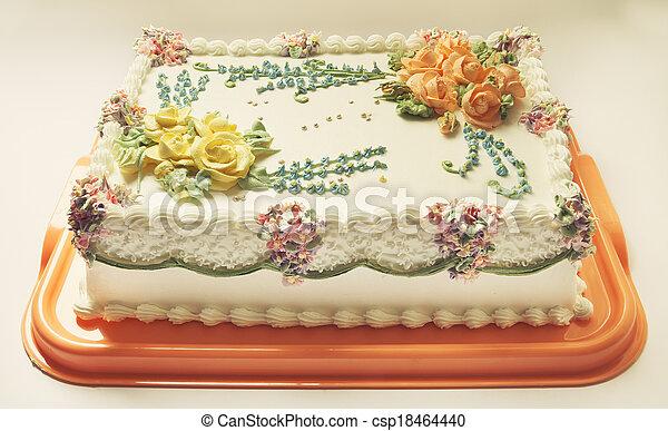 생일 케이크 - csp18464440