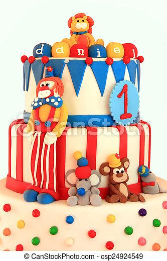 생일 케이크 - csp24924549