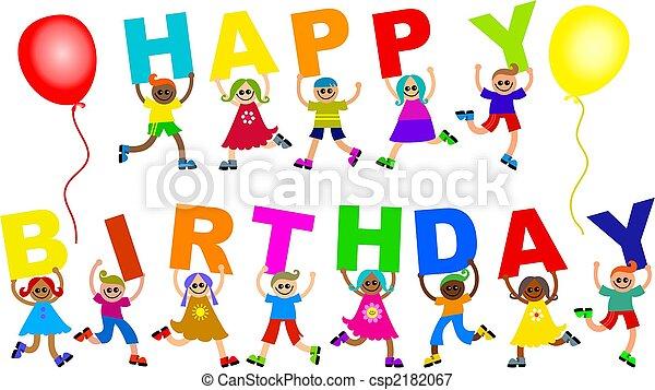 생일, 행복하다 - csp2182067